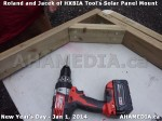 90 AHA MEDIA sees HXBIA Tool test fit solar panel mount on New Year Day Jan 1, 2014