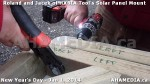 95 AHA MEDIA sees HXBIA Tool test fit solar panel mount on New Year Day Jan 1, 2014