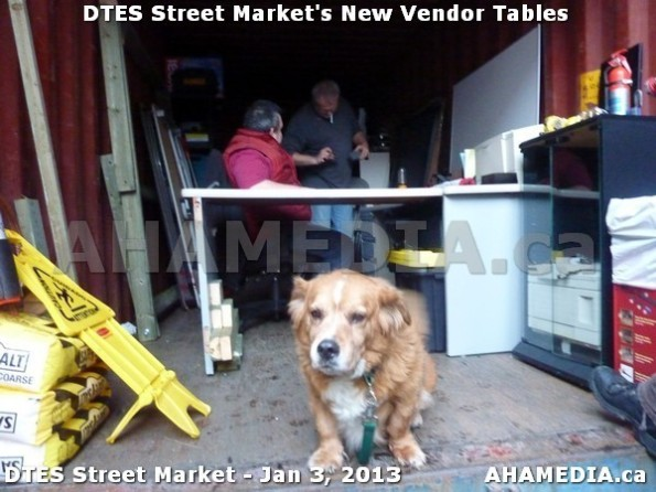 99 AHA MEDIA sees DTES Street Market new vendor tables in Vancouver on Jan 3, 2013