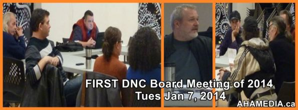 dnc meeting first of 2014 - aha