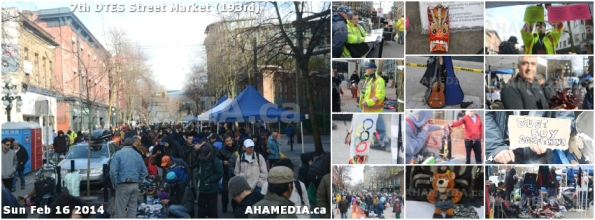 0 AHA MEDIA at DTES Street Market on Sun Feb 16 2014 in Vancouver
