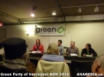 13 AHA MEDIA sees Green Party of Vancouver AGM on Thurs Feb 6 2014