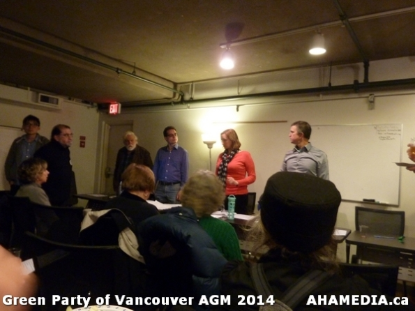 44 AHA MEDIA sees Green Party of Vancouver AGM on Thurs Feb 6 2014
