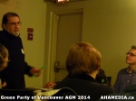 56 AHA MEDIA sees Green Party of Vancouver AGM on Thurs Feb 6 2014