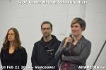 75 AHA MEDIA sees Stop Kinder Morgan Solidarity Night in Vancouver