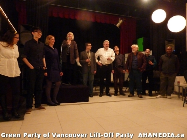 20 AHA MEDIA at  Green Party of Vancouver Lift-Off Party on Wed March 5, 2014