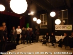 41 AHA MEDIA at  Green Party of Vancouver Lift-Off Party on Wed March 5, 2014