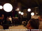 46 AHA MEDIA at  Green Party of Vancouver Lift-Off Party on Wed March 5, 2014