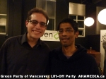 62 AHA MEDIA at  Green Party of Vancouver Lift-Off Party on Wed March 5, 2014