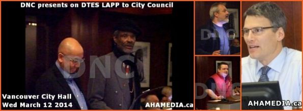 DNC presents to City Council cover