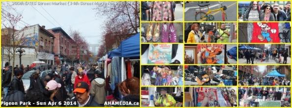 0 DTES Street Market 200th on Sun Apr 6 2014