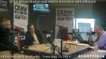 23 AHA MEDIA at Roland Clarke, Jacek Lorek of DTES Street Market, Wes Regan of HXBIA on Bill GoodShow