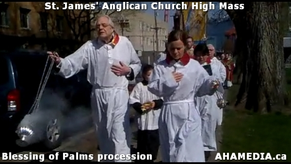 23 AHA MEDIA at St. James Anglican Church High Mass with the Blessing of Palms, procession in Vancouve