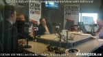 25 AHA MEDIA at Roland Clarke, Jacek Lorek of DTES Street Market, Wes Regan of HXBIA on Bill Good Show