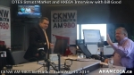 27 AHA MEDIA at Roland Clarke, Jacek Lorek of DTES Street Market, Wes Regan of HXBIA on Bill GoodShow