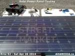 3 AHA MEDIA at Solar Power Panel Testing by DTES Street Market inVancouver