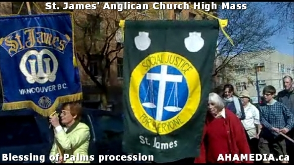 30 AHA MEDIA at St. James Anglican Church High Mass with the Blessing of Palms, procession in Vancouve