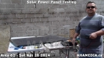 4 AHA MEDIA at Solar Power Panel Testing by DTES Street Market in Vancouver