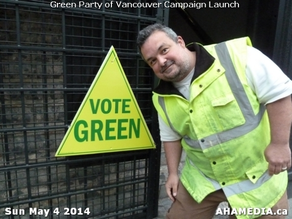 1 AHA MEDIA at 2014 Green Party of Vancouver Council Candidate Nomination Meeting and Campaign Launch