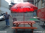 11 AHA MEDIA at Patio Tables for DTES Street Market in Vancouver