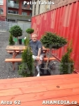 12 AHA MEDIA at Patio Tables for DTES Street Market inVancouver