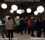 13 AHA MEDIA at 2014 Green Party of Vancouver Council Candidate Nomination Meeting and Campaign Launch