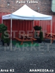 14 AHA MEDIA at Patio Tables for DTES Street Market in Vancouver