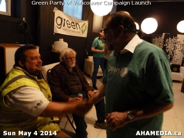 18 AHA MEDIA at 2014 Green Party of Vancouver Council Candidate Nomination Meeting and Campaign Launch