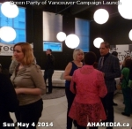 22 AHA MEDIA at 2014 Green Party of Vancouver Council Candidate Nomination Meeting and Campaign Launch