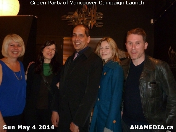 27 AHA MEDIA at 2014 Green Party of Vancouver Council Candidate Nomination Meeting and Campaign Launch