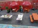6 AHA MEDIA at Patio Tables for DTES Street Market in Vancouver