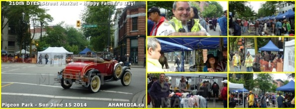 0 210 DTES Street Market on Sun June 15 2014