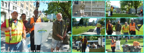 0 DTES Street Market cleans up Victory Square