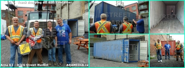 0 shipping container for DTES Street Market