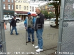 1 AHA MEDIA sees Truck drop off 40ft Storage Container for DTES Street Market in Vancouver