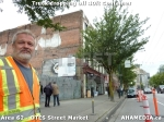 10 AHA MEDIA sees Truck drop off 40ft Storage Container for DTES Street Market inVancouver