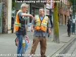 11 AHA MEDIA sees Truck drop off 40ft Storage Container for DTES Street Market in Vancouver
