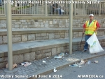 13 AHA MEDIA sees DTES Street Market crew clean up Victory Square inVancouver