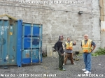 13 AHA MEDIA sees Truck drop off 40ft Storage Container for DTES Street Market inVancouver