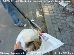 14 AHA MEDIA sees DTES Street Market crew clean up Victory Square in Vancouver