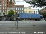 14 AHA MEDIA sees Truck drop off 40ft Storage Container for DTES Street Market inVancouver