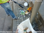17 AHA MEDIA sees DTES Street Market crew clean up Victory Square in Vancouver