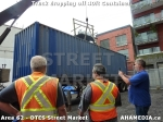 18 AHA MEDIA sees Truck drop off 40ft Storage Container for DTES Street Market in Vancouver