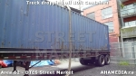 19 AHA MEDIA sees Truck drop off 40ft Storage Container for DTES Street Market in Vancouver