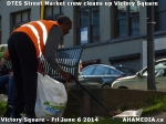 21 AHA MEDIA sees DTES Street Market crew clean up Victory Square inVancouver
