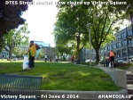 22 AHA MEDIA sees DTES Street Market crew clean up Victory Square in Vancouver