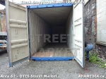 23 AHA MEDIA sees Truck drop off 40ft Storage Container for DTES Street Market in Vancouver