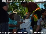 24 AHA MEDIA sees DTES Street Market crew clean up Victory Square inVancouver