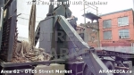 24 AHA MEDIA sees Truck drop off 40ft Storage Container for DTES Street Market in Vancouver