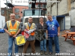 25 AHA MEDIA sees Truck drop off 40ft Storage Container for DTES Street Market in Vancouver